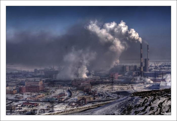 Норильске в десятке  самых загаженных городов мира